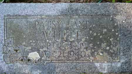 WHITE, PATSY FAYE - Baxter County, Arkansas | PATSY FAYE WHITE - Arkansas Gravestone Photos
