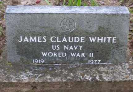 WHITE (VETERAN WWII), JAMES CLAUDE - Baxter County, Arkansas | JAMES CLAUDE WHITE (VETERAN WWII) - Arkansas Gravestone Photos