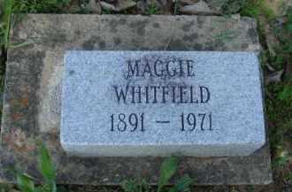 WHITFIELD, MAGGIE - Baxter County, Arkansas | MAGGIE WHITFIELD - Arkansas Gravestone Photos