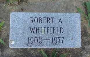 WHITFIELD, ROBERT A. - Baxter County, Arkansas | ROBERT A. WHITFIELD - Arkansas Gravestone Photos