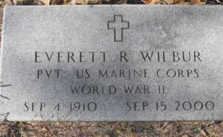 WILBUR  (VETERAN WWII), EVERETT R. - Baxter County, Arkansas | EVERETT R. WILBUR  (VETERAN WWII) - Arkansas Gravestone Photos