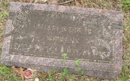 WILKENS, CHARLOTTE B. - Baxter County, Arkansas | CHARLOTTE B. WILKENS - Arkansas Gravestone Photos
