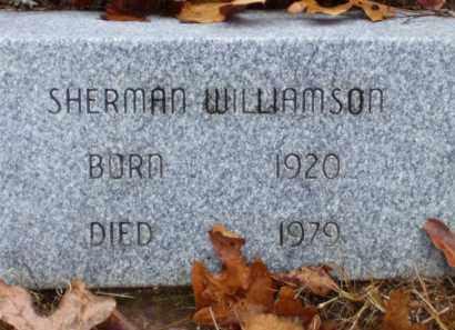 WILLIAMSON, SHERMAN - Baxter County, Arkansas | SHERMAN WILLIAMSON - Arkansas Gravestone Photos