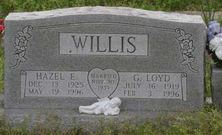 WILLIS, G. LOYD - Baxter County, Arkansas | G. LOYD WILLIS - Arkansas Gravestone Photos