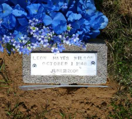 WILSON (2), LEON HAYES - Baxter County, Arkansas | LEON HAYES WILSON (2) - Arkansas Gravestone Photos