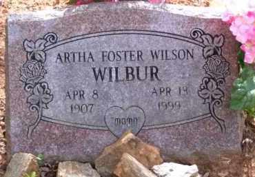 WILSON, ARTHA IRENE - Baxter County, Arkansas | ARTHA IRENE WILSON - Arkansas Gravestone Photos