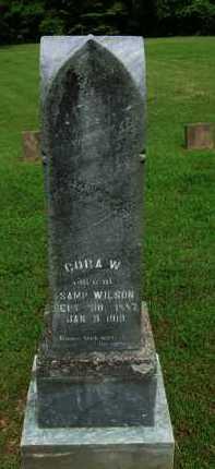 WILSON, CORA - Baxter County, Arkansas | CORA WILSON - Arkansas Gravestone Photos