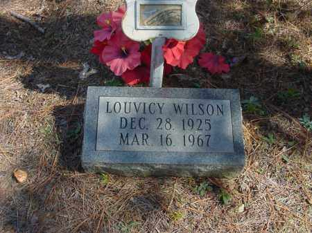 FREEMAN WILSON (2), LOUVICY - Baxter County, Arkansas | LOUVICY FREEMAN WILSON (2) - Arkansas Gravestone Photos