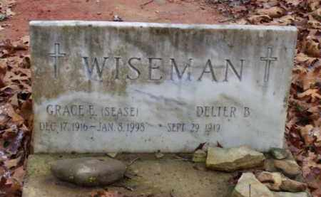WISEMAN, GRACE ELIZABETH - Baxter County, Arkansas | GRACE ELIZABETH WISEMAN - Arkansas Gravestone Photos