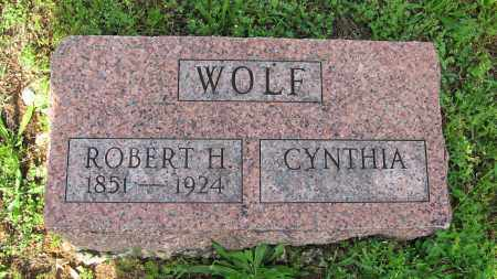 WOLF, ROBERT H. - Baxter County, Arkansas | ROBERT H. WOLF - Arkansas Gravestone Photos