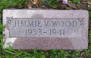 WOOD, JIMMIE VAUGHN - Baxter County, Arkansas | JIMMIE VAUGHN WOOD - Arkansas Gravestone Photos