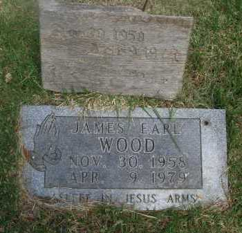 WOOD, JAMES EARL - Baxter County, Arkansas | JAMES EARL WOOD - Arkansas Gravestone Photos
