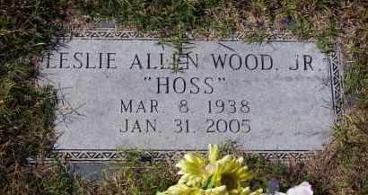 "WOOD, JR., LESLIE ALLEN ""HOSS"" - Baxter County, Arkansas | LESLIE ALLEN ""HOSS"" WOOD, JR. - Arkansas Gravestone Photos"