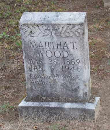 WOOD, MARTHA T - Baxter County, Arkansas | MARTHA T WOOD - Arkansas Gravestone Photos