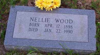 WOOD, NELLIE AGNES - Baxter County, Arkansas | NELLIE AGNES WOOD - Arkansas Gravestone Photos
