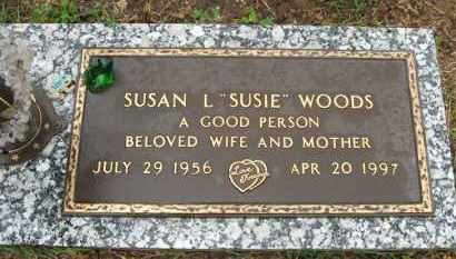 "ALEXANDER WOODS, SUSAN L. ""SUSIE"" - Baxter County, Arkansas 