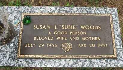 "WOODS, SUSAN L. ""SUSIE"" - Baxter County, Arkansas | SUSAN L. ""SUSIE"" WOODS - Arkansas Gravestone Photos"