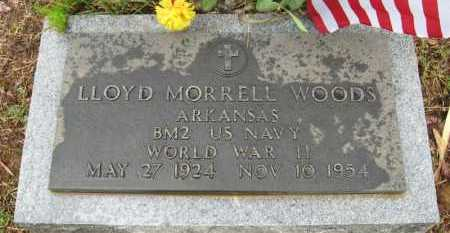WOODS (VETERAN WWII), LLOYD MORRELL - Baxter County, Arkansas | LLOYD MORRELL WOODS (VETERAN WWII) - Arkansas Gravestone Photos