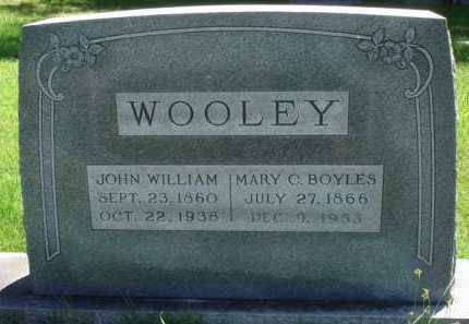 BOYLES WOOLEY, MARY C. - Baxter County, Arkansas | MARY C. BOYLES WOOLEY - Arkansas Gravestone Photos