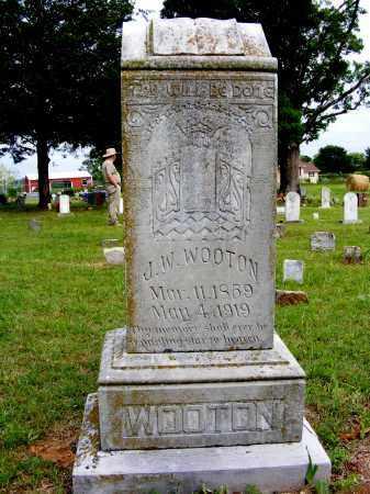 WOOTON, J. W. - Baxter County, Arkansas | J. W. WOOTON - Arkansas Gravestone Photos
