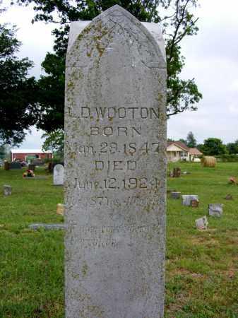 WOOTON, LORENZO DOW - Baxter County, Arkansas | LORENZO DOW WOOTON - Arkansas Gravestone Photos