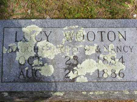 WOOTON, LUCY - Baxter County, Arkansas | LUCY WOOTON - Arkansas Gravestone Photos