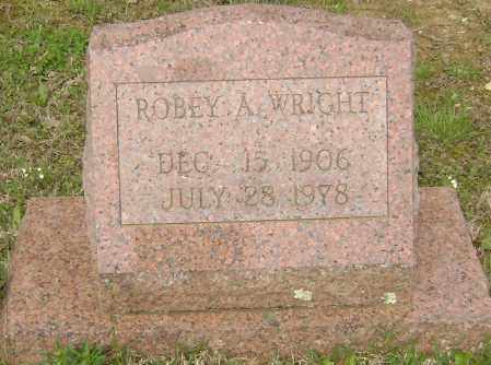 WRIGHT, ROBEY A. - Baxter County, Arkansas | ROBEY A. WRIGHT - Arkansas Gravestone Photos