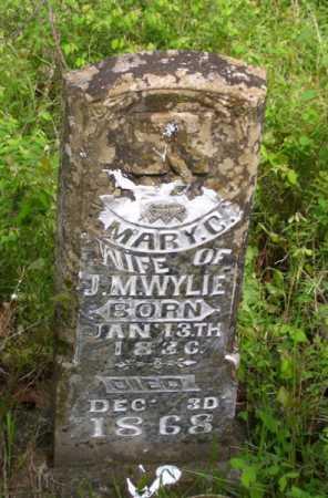 WYLIE, MARY C. - Baxter County, Arkansas | MARY C. WYLIE - Arkansas Gravestone Photos