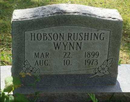 WYNN, HOBSON RUSHING - Baxter County, Arkansas | HOBSON RUSHING WYNN - Arkansas Gravestone Photos