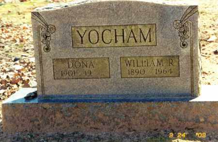 YOCHAM, DONA - Baxter County, Arkansas | DONA YOCHAM - Arkansas Gravestone Photos
