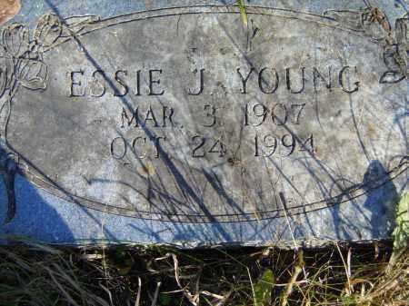 YOUNG, ESSIE J. - Baxter County, Arkansas | ESSIE J. YOUNG - Arkansas Gravestone Photos
