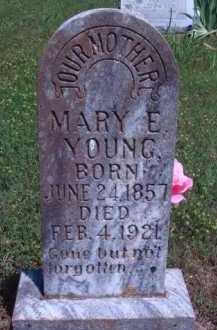 YOUNG, MARY E. - Baxter County, Arkansas | MARY E. YOUNG - Arkansas Gravestone Photos