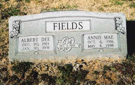 FIELDS, ALBERT DEE - Benton County, Arkansas | ALBERT DEE FIELDS - Arkansas Gravestone Photos