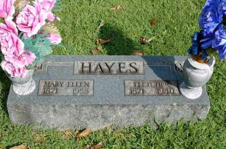 BRUNER HAYES, MARY ELLEN - Benton County, Arkansas | MARY ELLEN BRUNER HAYES - Arkansas Gravestone Photos