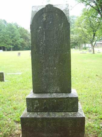 AARON, A. H. - Benton County, Arkansas | A. H. AARON - Arkansas Gravestone Photos