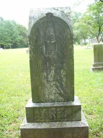 AARON, DORCAS E. - Benton County, Arkansas | DORCAS E. AARON - Arkansas Gravestone Photos