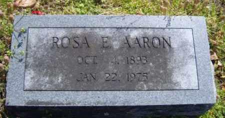 AARON, ROSA E. - Benton County, Arkansas   ROSA E. AARON - Arkansas Gravestone Photos