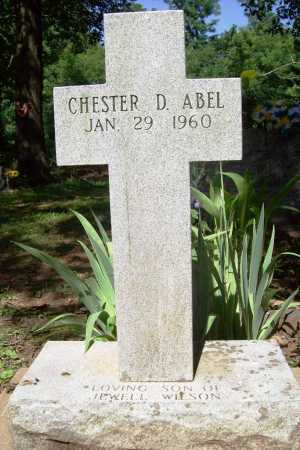 ABEL, CHESTER D. - Benton County, Arkansas | CHESTER D. ABEL - Arkansas Gravestone Photos
