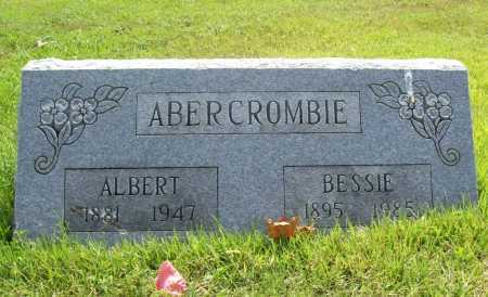 ABERCROMBIE, ALBERT - Benton County, Arkansas | ALBERT ABERCROMBIE - Arkansas Gravestone Photos