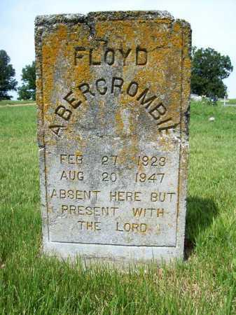 ABERCROMBIE, FLOYD - Benton County, Arkansas | FLOYD ABERCROMBIE - Arkansas Gravestone Photos