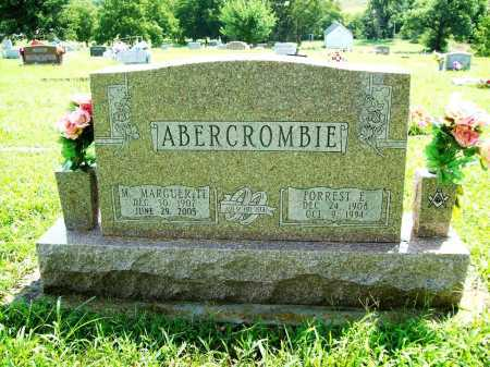 ABERCROMBIE, FORREST E - Benton County, Arkansas | FORREST E ABERCROMBIE - Arkansas Gravestone Photos