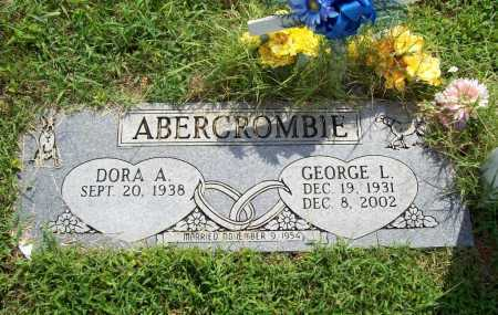 ABERCROMBIE, GEORGE L. - Benton County, Arkansas | GEORGE L. ABERCROMBIE - Arkansas Gravestone Photos