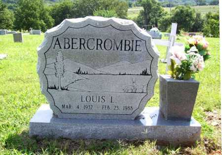 ABERCROMBIE, LOUIS L. - Benton County, Arkansas | LOUIS L. ABERCROMBIE - Arkansas Gravestone Photos