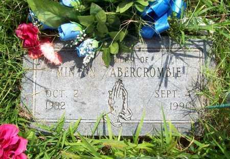 ABERCROMBIE, MINTON - Benton County, Arkansas | MINTON ABERCROMBIE - Arkansas Gravestone Photos