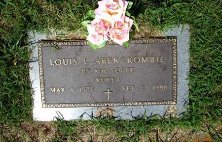 ABERCROMBIE (VETERAN KOR), LOUIS L. - Benton County, Arkansas | LOUIS L. ABERCROMBIE (VETERAN KOR) - Arkansas Gravestone Photos