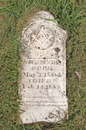 ABERCROMBIE, YOUNG - Benton County, Arkansas | YOUNG ABERCROMBIE - Arkansas Gravestone Photos