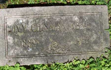 ABNEY, IVY CHISMAN - Benton County, Arkansas | IVY CHISMAN ABNEY - Arkansas Gravestone Photos