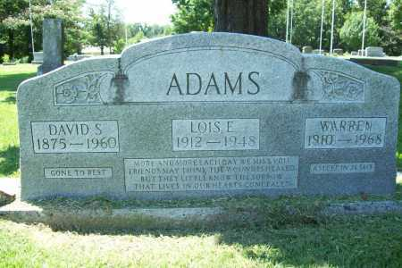 ADAMS, LOIS E. - Benton County, Arkansas | LOIS E. ADAMS - Arkansas Gravestone Photos