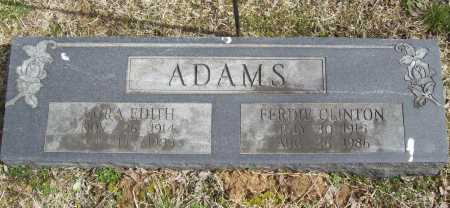ADAMS, LURA EDITH - Benton County, Arkansas | LURA EDITH ADAMS - Arkansas Gravestone Photos