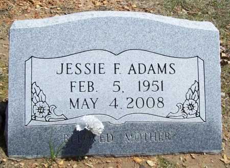 WOOD ADAMS, JESSIE FAY - Benton County, Arkansas | JESSIE FAY WOOD ADAMS - Arkansas Gravestone Photos